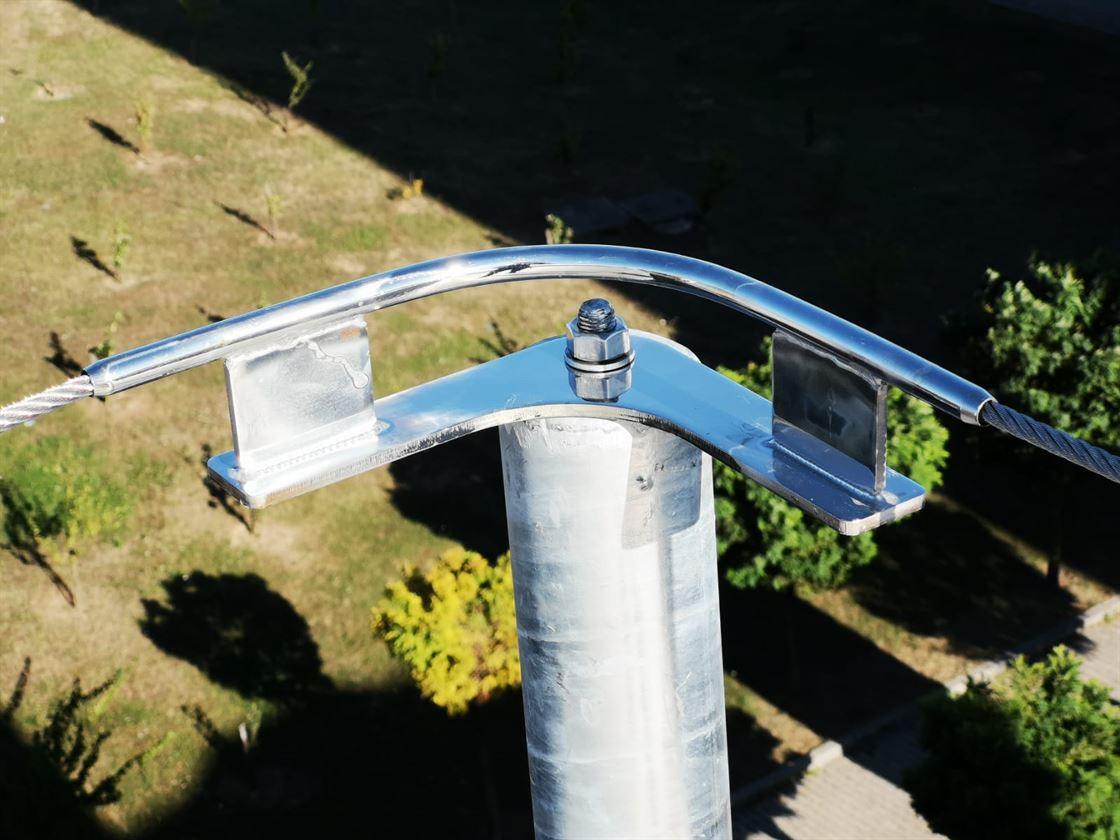 Darica Farabi State Hospital Roof Horizontal Life Lines Completed4