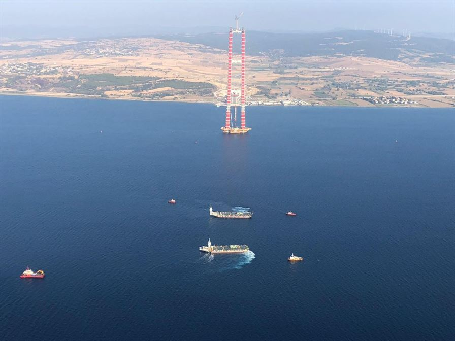 WE CONTINUE TO JOIN CONTINENTS WITH THE ÇANAKKALE 1915 BRIDGE8