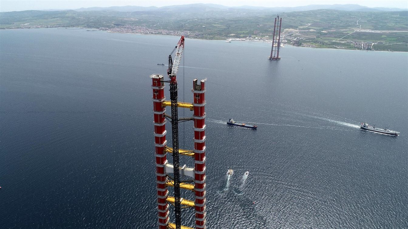 WE CONTINUE TO JOIN CONTINENTS WITH THE ÇANAKKALE 1915 BRIDGE7