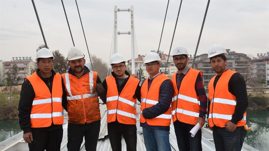 Manavgat Pedestrian Bridge Project3