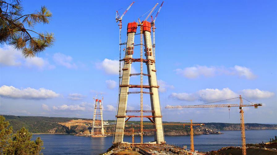 3.Boğaz Köprüsü inşaatındayız1