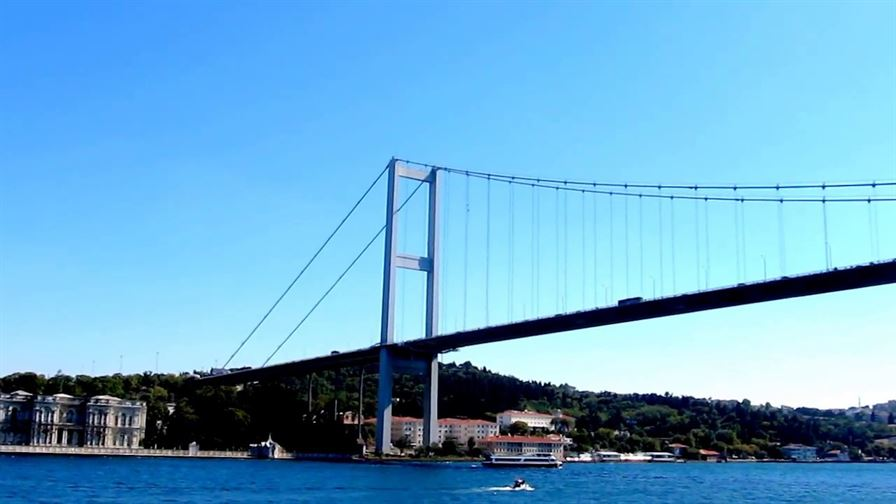 We are at Bosphorus Bridges Maintenance and Repair Project1