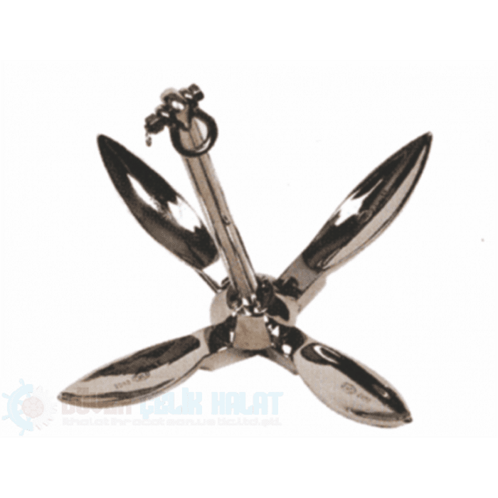 Stainless Steel Folding Anchor