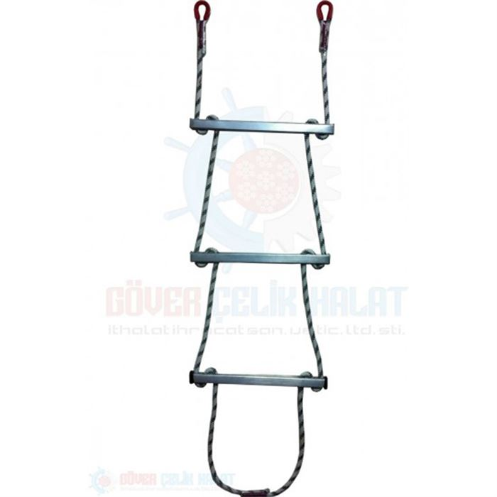 Rope Ladder - Aluminium Step Rope Ladder-1