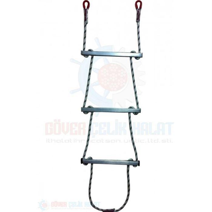Rope Ladder - Aluminium Step Rope Ladder