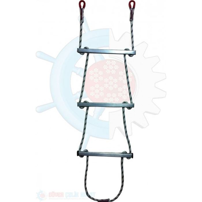 Rope Ladder - Aluminium Step Rope Ladder-2