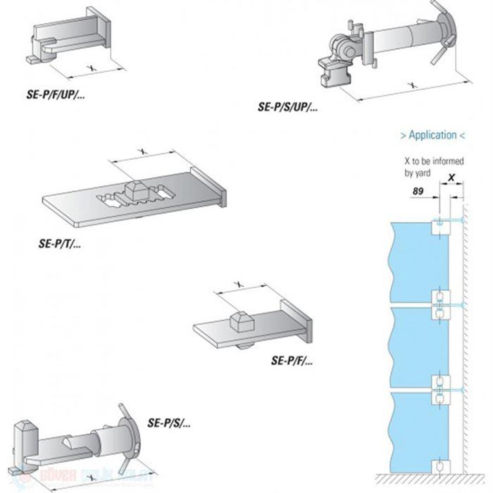 Pressure Element SE-P/F/UP & SE-P/F