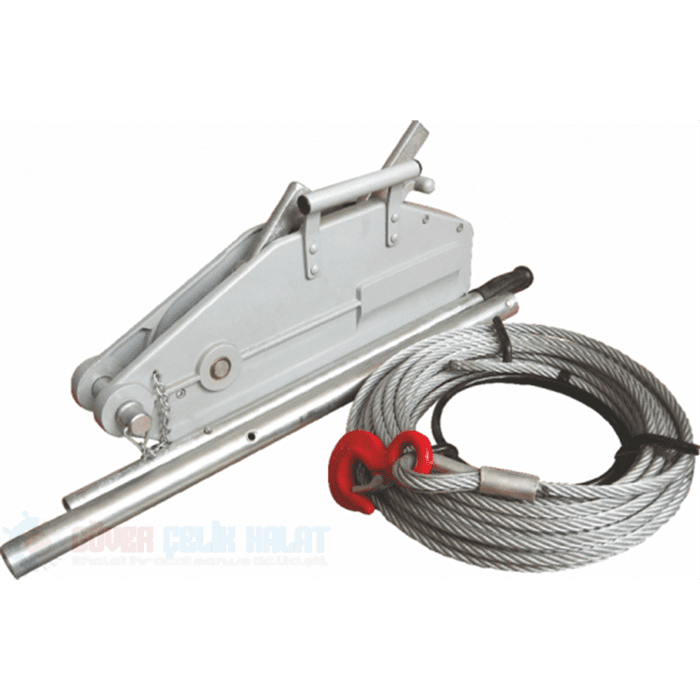 WIRE ROPE PULLING HOIST ALUMINIUM BODY-1