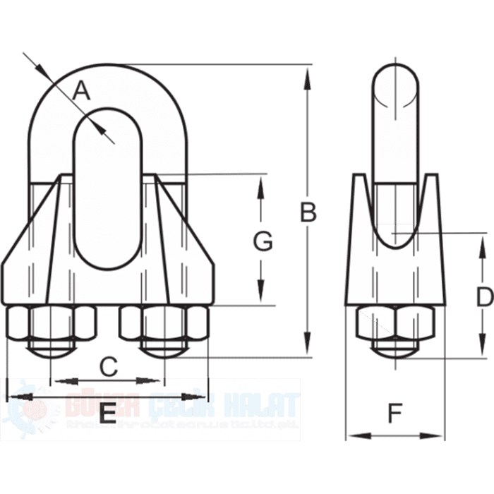 Klemens DIN 741-2