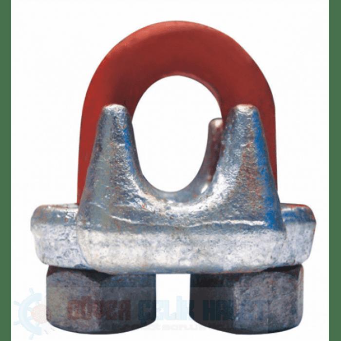 Dövme Çelik Tırnaklı Halat Klemensi G 450-1