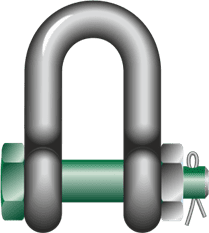 dee shackles with safety bolt-3