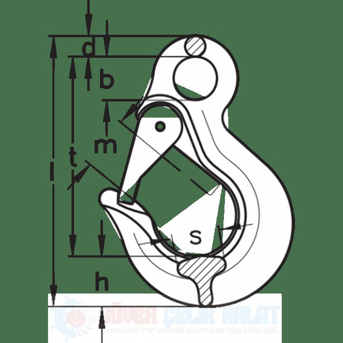 Sıka Gözlü Kanca Tip OHS-1