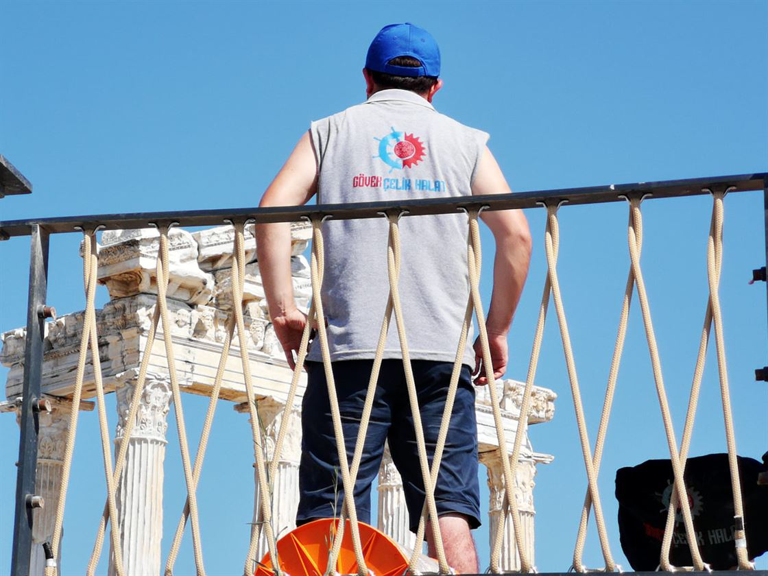 The Temple Of Apollo And Its Surroundings Are Now Safer With Our Ropes2