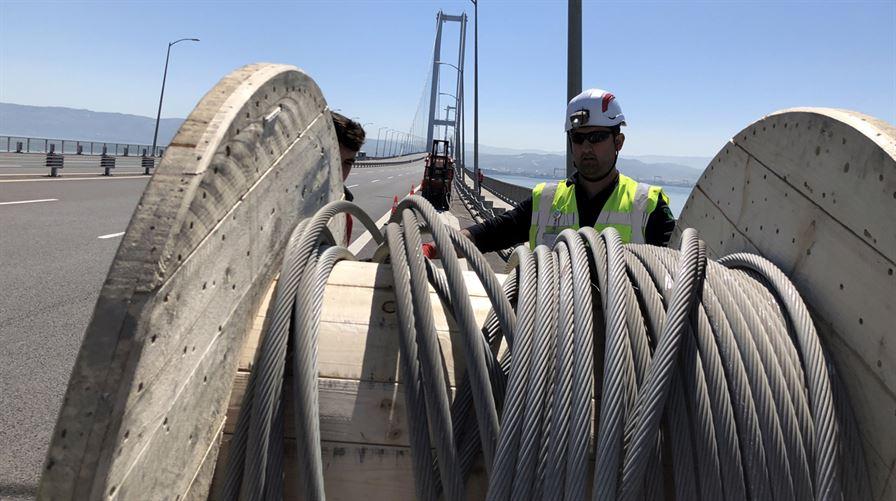 Osmangazi Köprüsü Bakım ve Onarım İşlemleri1